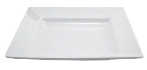 - BIA Cordon Bleu Nouveau Square Shallow Bowls, Set of 2, White
