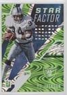 Bo Jackson #122/199 (Football Card) 2017 Panini Unparalleled - Star Factor - Lime Green #SF-BJ