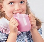 Doidy-Children's Nosey Cups ( CUP, NOSEY, DOIDY-CHILDREN'S, BG/3 ) 3 Each / Bag by Maddak Inc.