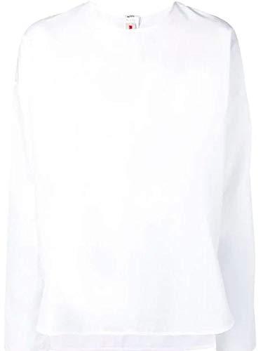 - Marni Women's Cama0064a0tcw6400w01 White Cotton Blouse