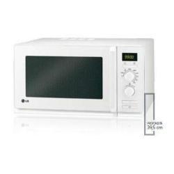 LG MH6338A, 230 V, 50 Hz AC, Blanco, 485 x 395 x 283 mm, 15000 g, 300 x 330 x 202 mm - Microondas