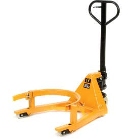 - Portable Hydraulic Drum Jack, Steel, 800 Lb. Cap, Yellow