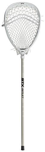 STX Lacrosse Eclipse 2 Complete Goalie Stick, White, White/White/Platinum