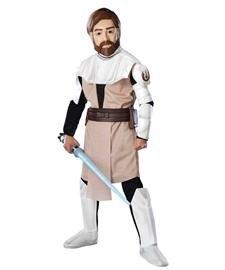 Deluxe Obi Wan Kenobi Child Costume (Rubie's Deluxe EVA Obi Wan Kenobi - Child Large)