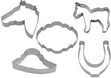 5 Piece Kentucky Derby Horse Cookie Cutter Set BBND-1289