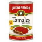 La Preferida Tamales Beef & Pork, 15-Ounce (Pack of 12)