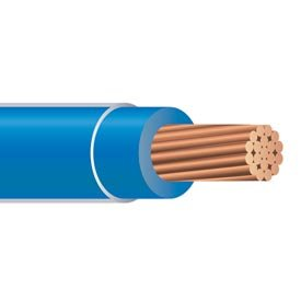 1000\' 8 Gauge Blue THHN THWN-2 Copper Wire Conductor Heat Moisture ...