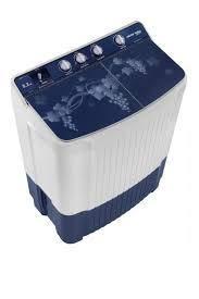 VOLTAS BEKO 8.2 kg Semi Automatic Top Loading Washing Machine WTT82BLG (Blue)