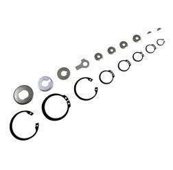 MZA Meyer-Zweiradtechnik 60066.0 Set Sicherungsteile Plus Scheibenfedern zum Motor M531 - M743 - S51- S83