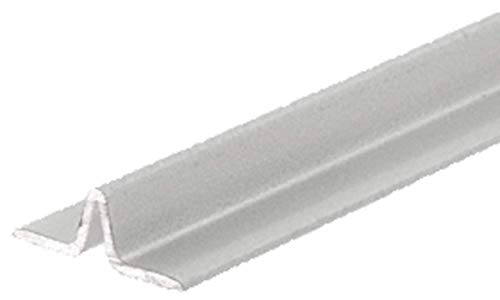 CRL Satin Anodized Series 3606 Lower Track for Sliding Screen Doors - 12 ft long (Anodized Crl Series Satin)