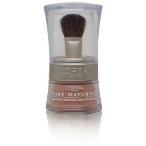 Loreal Bare Naturale Mineral Makeup - L'Oreal Bare Naturale Gentle Mineral Eye Shadow with Brush - # 406 - Bare Gold