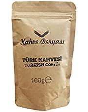 Kahve Deryası Klasik Türk Kahvesi 100 Gr. x 2 Adet Kraft Ambalaj