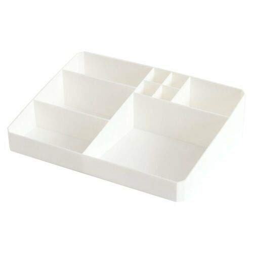 Large Lipstick Storage Box Transparent Acrylic Make Up Cosmetic Organizer D (color - white)