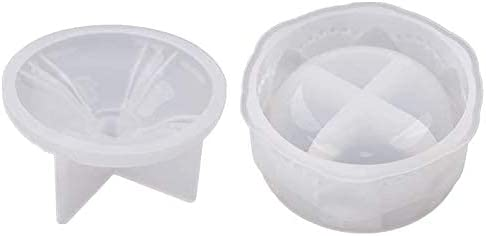 YANJ Storage Box Silicone Jewelry Box Epoxy Resin Suitable for Candle Holder Jewelry Box DIY Decoration Supplies