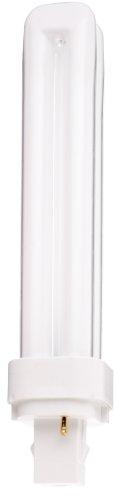 Satco S8326 3000K 26-Watt G24D-3 Base T4 Quad 2-Pin Tube for Magnetic Ballasts