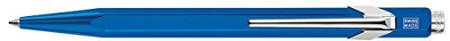 Caran D'Ache 849 Metal-X Ballpoint Pen - Blue