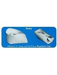 (OvedcRay Official Us Army Air Force Regulation Uniform Costume Nurse Cap Hat White)