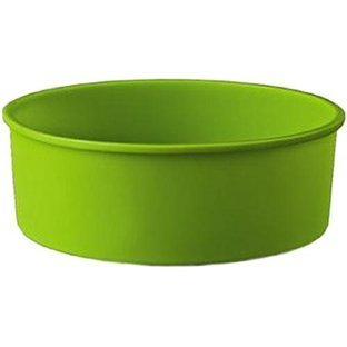 - PetriStor Silicone baking dish (round deep - colors may vary) Round Silicone Cake Mold Pan Size 9.4inc. x 9.4inc. x 2.4inc