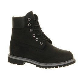 Timberland Mujer Jewels Pack Dark Verde Gables 6 Inch Botas negro - Black Nubuck Exclusive