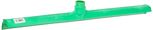 Carlisle 3656809 Solid One-Piece Foam Rubber Head Floor Squeegee, 24'' Length, Green by Carlisle (Image #1)