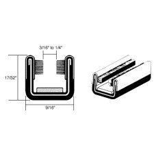 - CRL Flexible Unbeaded Glass Run Channel for Jeep, Dodge and White Trucks - 60 in long by C.R. Laurence