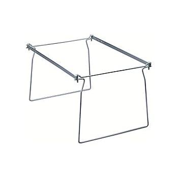 Amazon.com : Smead Steel Hanging File Folder Frame, Letter Size ...