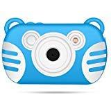 GordVE Kids Waterproof Camera Self-Timer Camera Video Recorder Camcorder 2.7'' LCD Screen, 8X Digital Zoom Flash Mic Girls/Boys by GordVE (Image #1)