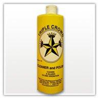- Triple Crown Table Shuffleboard Glaze Cleaner- 4 Quart Case