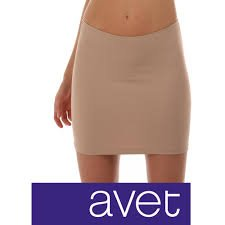 AVET 79290 - falda combinacion microfibra (negro): Amazon.es: Ropa ...