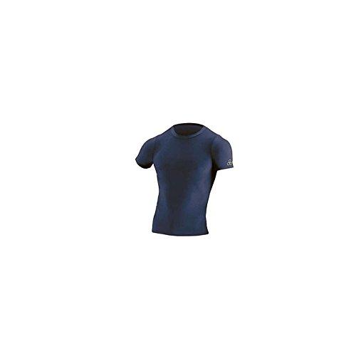 - McDavid Classic Logo 903 CL Mock Neck - Short Sleeve Shirt Navy-X-Large