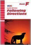 Following Directions (Specific Skill Series, Book F)