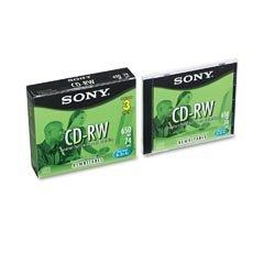 SON22017 - Sony CD-RW Rewritable Discs