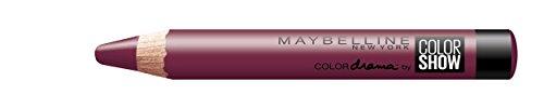 Maybelline New York Make-Up Lippenstift Color Drama Lipstick Berry Much / Dunkles Lila mit mattierendem Finish, 1 x 2 g