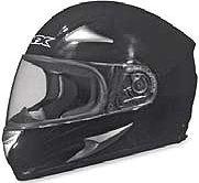 AFX FX-Magnus Solid Big Head Helmet , Size: 3XL, Primary Color: Black, Distinct Name: Gloss Black, Helmet Type: Full-face Helmets, Helmet Category: Street, Gender: Mens/Unisex 0101-4087