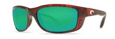 Costa Del Mar Zane Sunglasses, Tortoise, Green Mirror 580G - Costa Sunglasses 580g