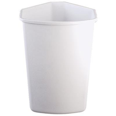KV QT32PB-W Replacement Trash Can, 32 quart, white