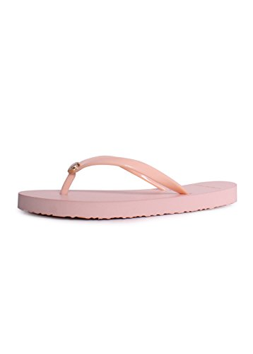 (Tory Burch Solid Thin Flip Flop Sandals in Perfect Blush Size 11)