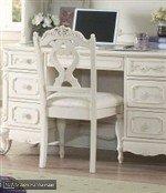 Cinderella Writing Desk Chair in Ecru/Off-White