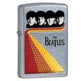 Zippo The Beatles Shine Street Chrome Pocket Lighter