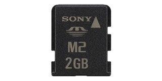 Sony MemoryStick Micro 2GB (M2) + USB Adapter Ericsson Packaging ...