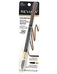 Revlon Colorstay Brow Pencil, 210 Soft Brown (Pack of 2)
