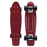 Penny Classic Complete Skateboard, Burgundy, 22' L