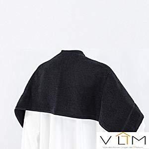 6/servilletas 50/x 80/Special peluquer/ía negro Pur algod/ón Calidad Profesional vandenhove ropa de casa