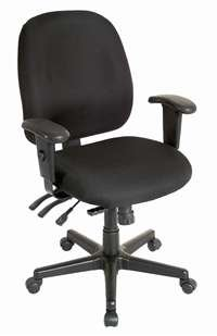 Eurotech 4x4sl - Multi-function Office Task Chair With Seat Slider