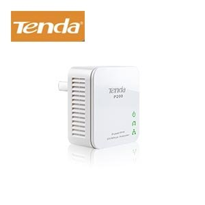 Tenda P200 200MBPS Powerline Adapter - 4