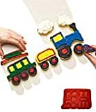 Train Pull-A-Part Cupcake Mold by Create n Celebrate