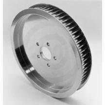Ltd Rear Belt Drives Pulley - Belt Drives Polished 1 1/2in. Rear Belt Pulley - Solid - 65T RPP-65