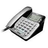 Rca PHRC12231 Silver Phone Corded Desktop 2Line Caller Id