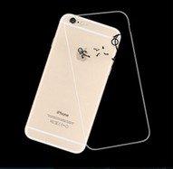 MISSOLY %2F6S iPhone 6, protezione %2FShock assorbimento Technology [] [] attaccato Dust-Cover trasparente posteriore morbida in poliuretano termoplastico, con motivo , per 4 1,78 (.7) iPhone 6 cm %