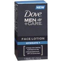 dove men care face lotion